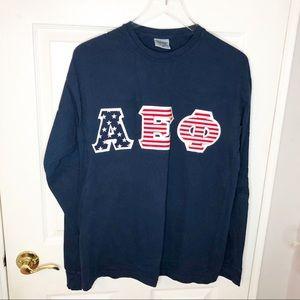 AEPhi Long Sleeve T-Shirt Size Medium